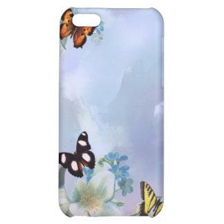 Butterflies and Blues iPhone 5C Cover