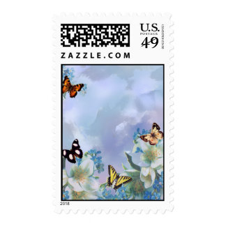 Butterflies and Blues Stamps