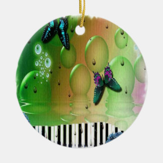 Butterflies and Bubbles Christmas Ornaments