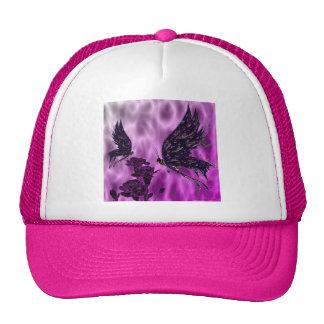 Butterflies and Carnations Trucker Hat