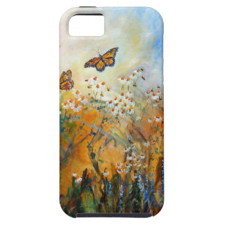 Butterflies and Chamomile Case-Mate Case iPhone 5 Cover