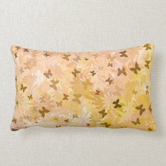 Butterflies and Daisies by Shirley Taylor Lumbar Pillow