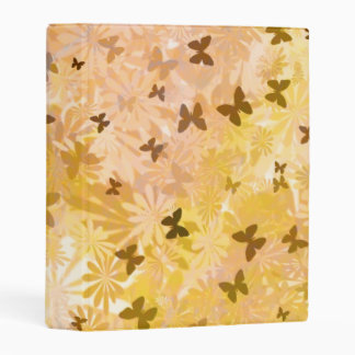 Butterflies and Daisies by Shirley Taylor Mini Binder