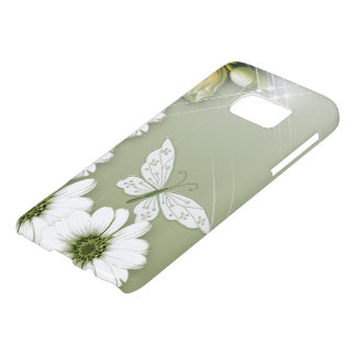Butterflies and Daisies Samsung Galaxy S7 Case