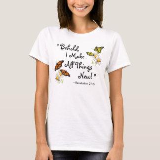 Butterflies and Daisies T-Shirt