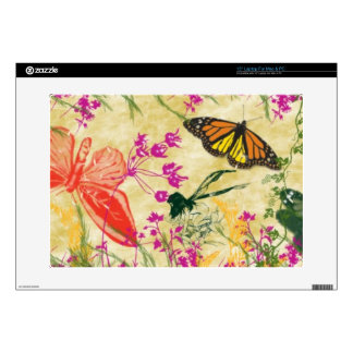 """Butterflies and Fairies Skin For 15"""" Laptop"""
