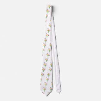 Butterflies and Flowers Apparel Neck Tie