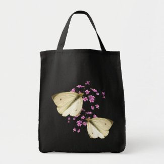 Butterflies and Flowers bag