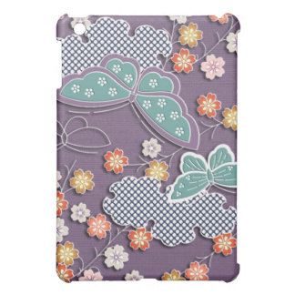 Butterflies and flowers cover for the iPad mini