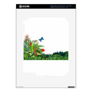Butterflies and garden skins for iPad 3