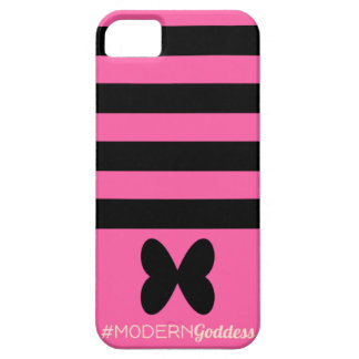 Butterflies and Hashtags iPhone SE/5/5s Case