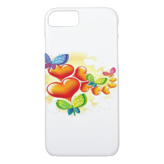 Butterflies and Hearts iPhone 8/7 Case