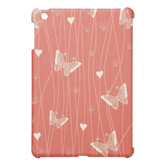 butterflies and hearts tender ipad case