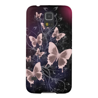 Butterflies and Leaves Galaxy S5 Cover