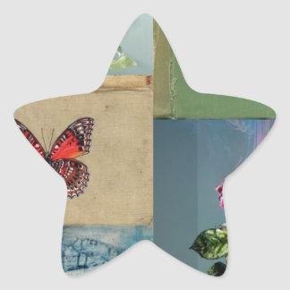 Butterflies and more star sticker