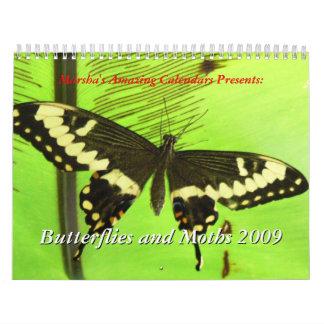 Butterflies and Moths 2009 Calendar