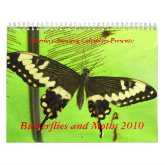 Butterflies and Moths 2010 Calendar