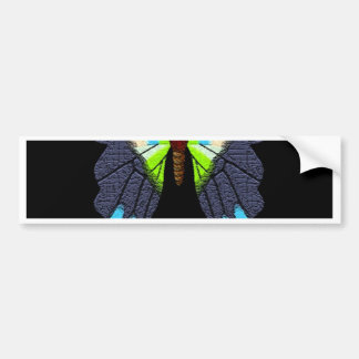 Butterflies  and Moths Happy New Year Bumper Sticker