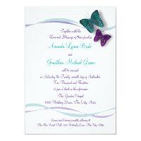 Butterflies and Ribbons Wedding Card (<em>$2.11</em>)
