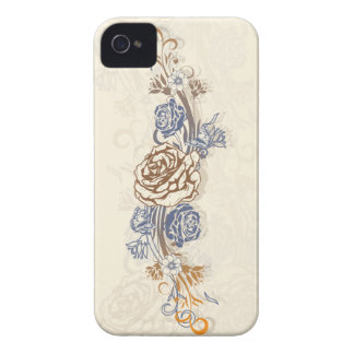 Butterflies and Roses Case-Mate iPhone 4 Cases