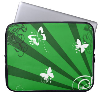 Butterflies and Stars 2 Laptop Sleeves