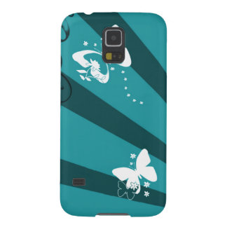 Butterflies and Stars Case For Galaxy S5