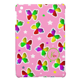Butterflies and Stars iPad Mini Case