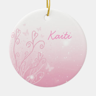 Butterflies and Stars Ornament