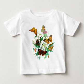 Butterflies and Thistle T-shirt