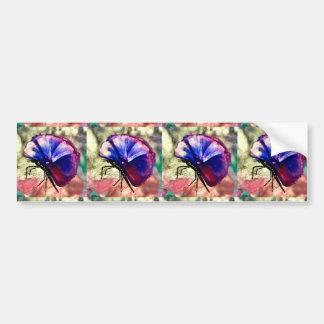 Butterflies,Animals,Encaustic, Bumper Sticker