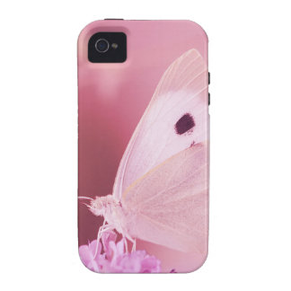 Butterflies Animals  Missing You  pink spring iPhone 4 Covers
