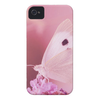 Butterflies Animals  Missing You  pink spring iPhone 4 Case-Mate Cases