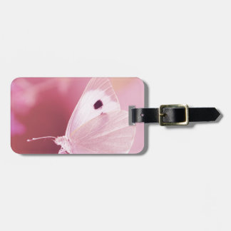 Butterflies Animals  Missing You  pink spring Luggage Tag