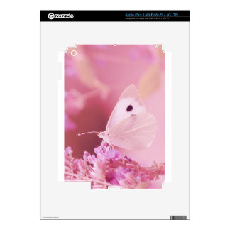 Butterflies Animals  Missing You  pink spring Skins For iPad 3