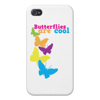 butterflies are cool iPhone 4 case