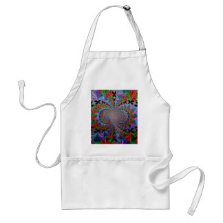 BUTTERFLIES ARE EVERYWHERE ADULT APRON