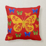 Butterflies are Forever Throw Pillow