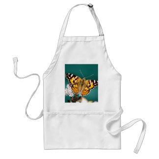 Butterflies are free adult apron