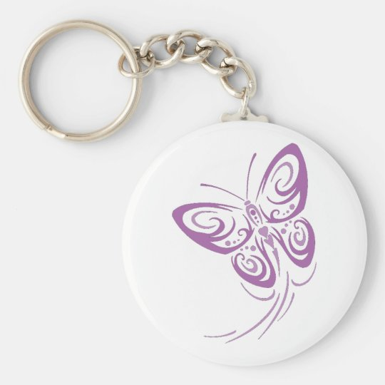 Butterflies Are Free Keychain