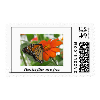 Butterflies are free postage