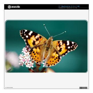 Butterflies are free MacBook air decal