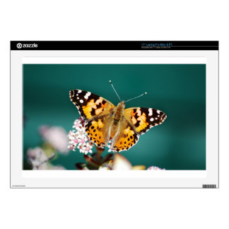 """Butterflies are free 17"""" laptop decals"""