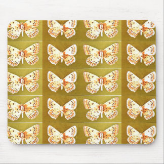 Butterflies Artwork Unique Modern Mousepad