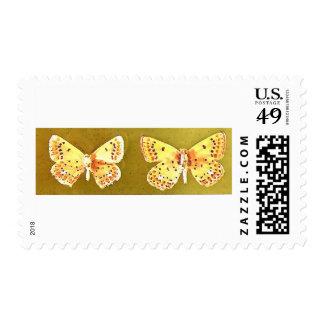 Butterflies Artwork Unique Stamp