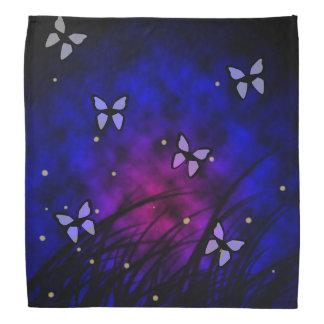 Butterflies at Night Bandana