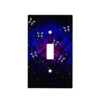 Butterflies at Night Light Switch Plates