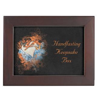 Butterflies at Samhain Handfasting Keepsake Gift Memory Box