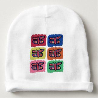 Butterflies Baby Knit Hat