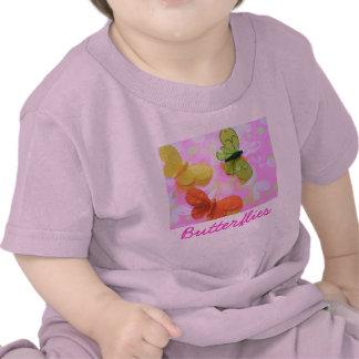 Butterflies baby shirt