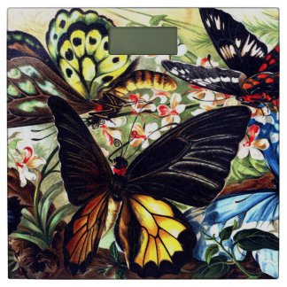 Butterflies Bathroom Scale
